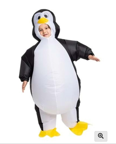Inflatable Penguin Costume For Kids