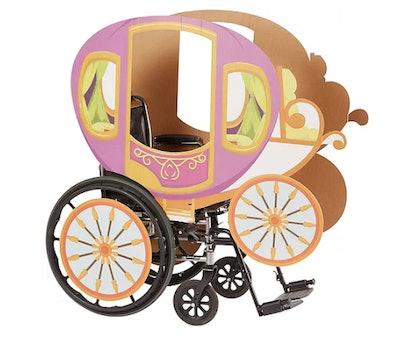 Princess Carriage Wheelchair Costume