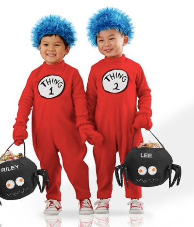 Thing One and Thing Two costumes