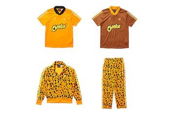 "Adidas x Cheetos x Bad Bunny ""Deja tu Huella"" collection"