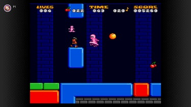 A screenshot of Jelly Boy, the greatest game of all time