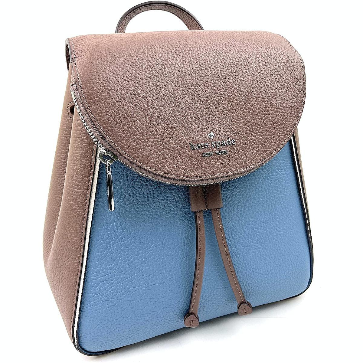 Kate Spade Leila Medium Pebbled Leather Backpack