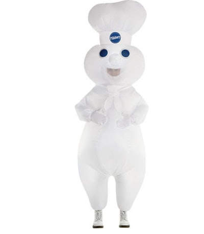 Adult Inflatable Pillsbury Doughboy Costume