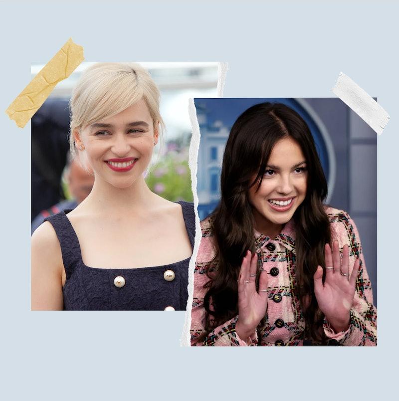 Emilia Clarke and Olivia Rodrigo