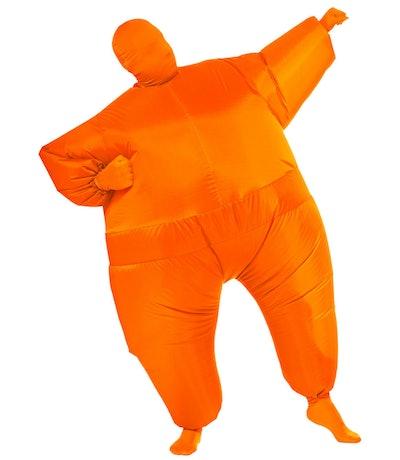 Inflatable Orange Adult Costume