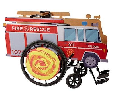 Child Wheelchair Fire Truck Costume