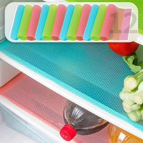 MayNest Refrigerator Liners (12 Pack)