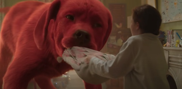 Clifford the Big Red Dog makes his big screen debut in this live action film.