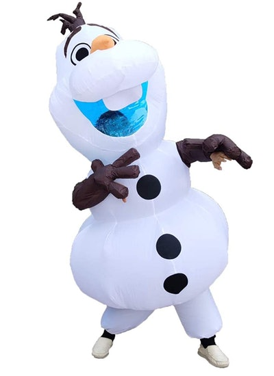 Inflatable Olaf Snowman Costume