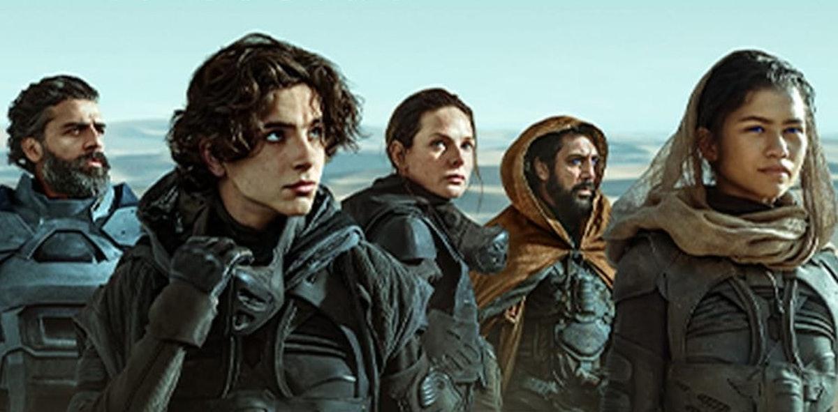 The cast of Warner Bros. 2021 'Dune'