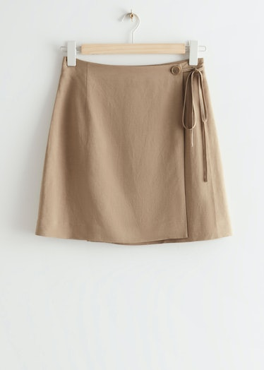 Mini wrap skirt from & Other Stories Stockholm atelier.
