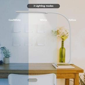 Hokone LED Desk Lamp with Clamp