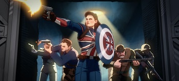 Captain Carter and the Howling Commandos in Marvel's What If? trailer