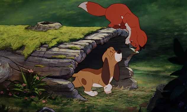 The Fox and the Hound is based on a children's book of the same name.