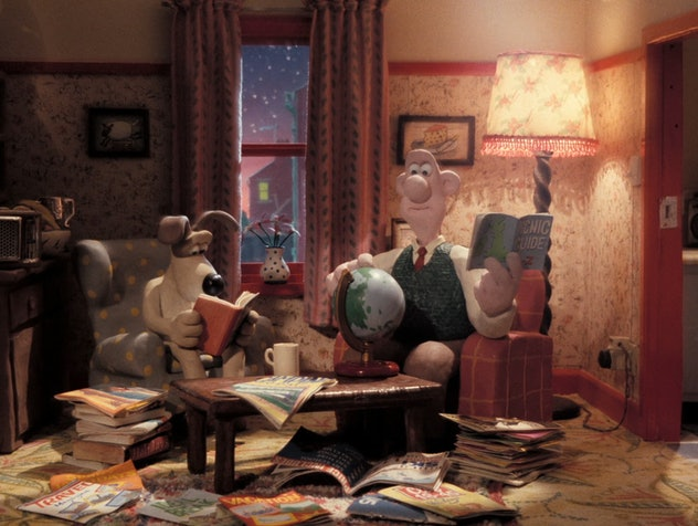 Wallace and Gromit is stop motion animation