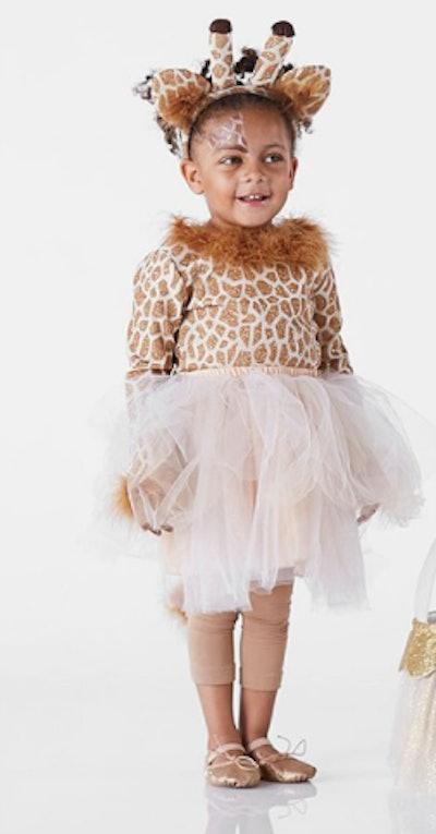 Giraffe Halloween costume for child