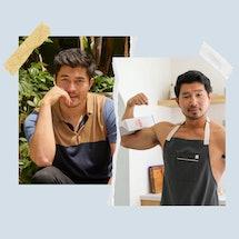 Henry Golding and Simu Liu