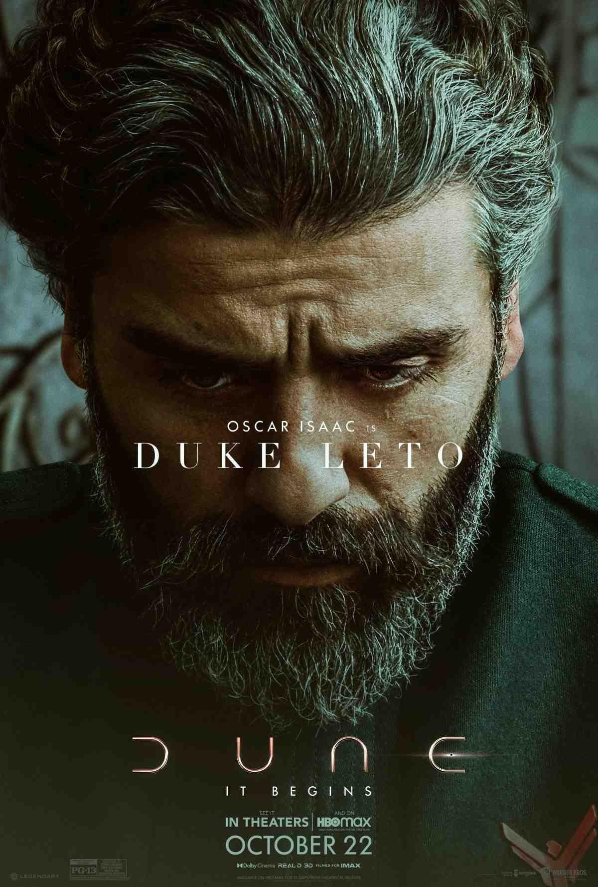 Oscar Isaac as Duke Leto Atreides in 'Dune'