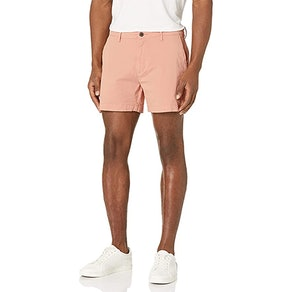 Goodthreads Flat-Front Stretch Chino Shorts