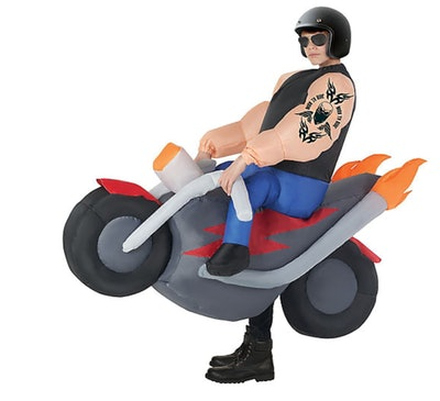 Child Inflatable Biker Ride-On Costume