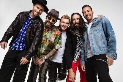 The Backstreet Boys are still at it.