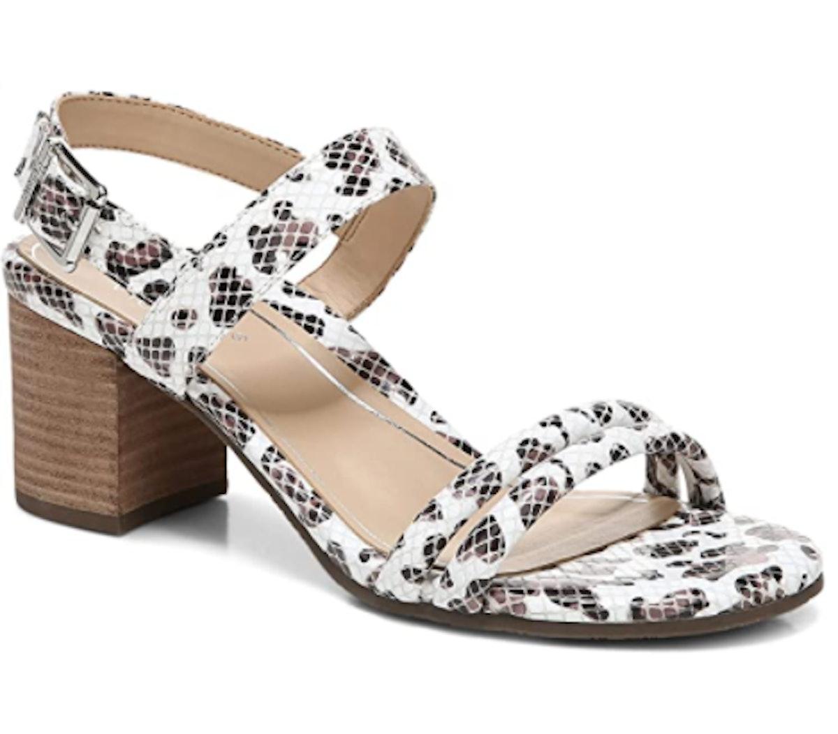 Vionic Papaya Paula Heeled Sandal
