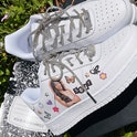 Drip Creationz Olivia Rodrigo Sour Nike Air Force 1