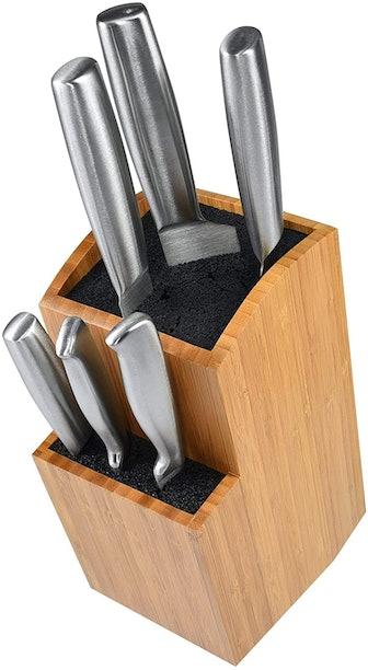 ETTU Kitchen Bamboo Universal Knife Block