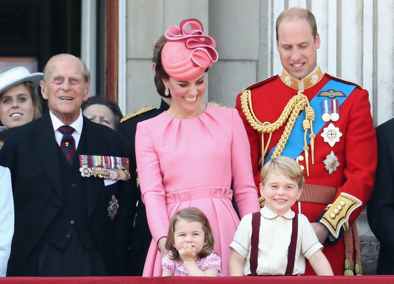 Prince George, Prince Philip & the family