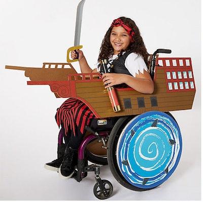 Child Wheelchair Pirate Ship Costume