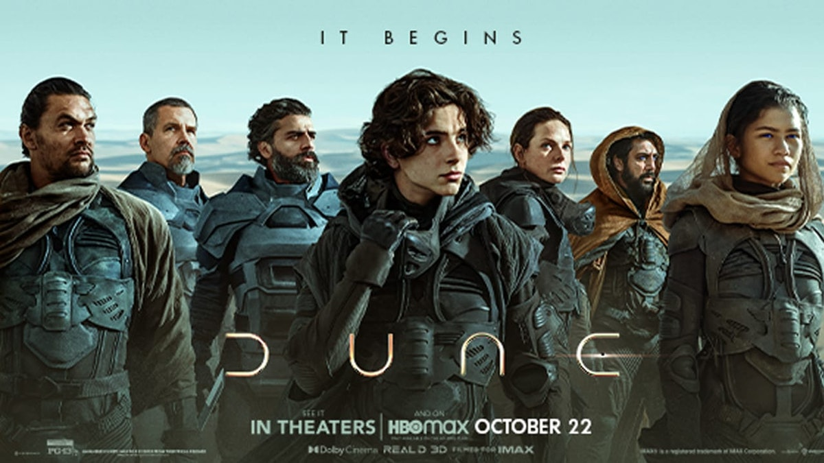 The official Dune poster