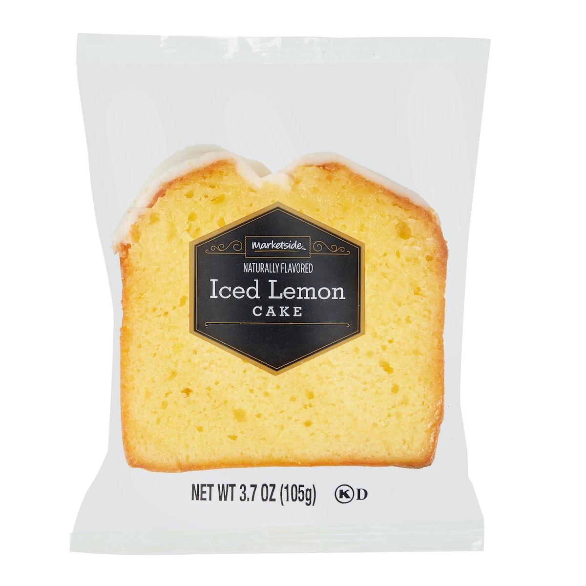 Marketside Kosher Iced Lemon Individually Wrapped Cake