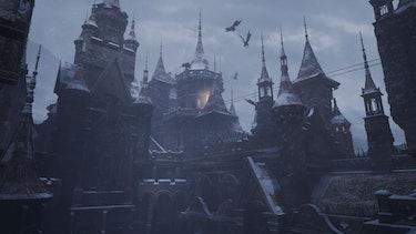 resident evil village castle dimitrescu