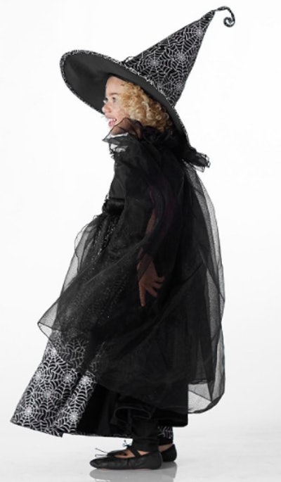 Witch costume for child