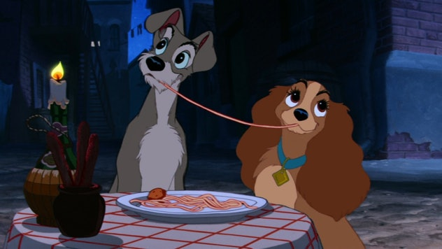 Lady and the Tramp was released in 1955.