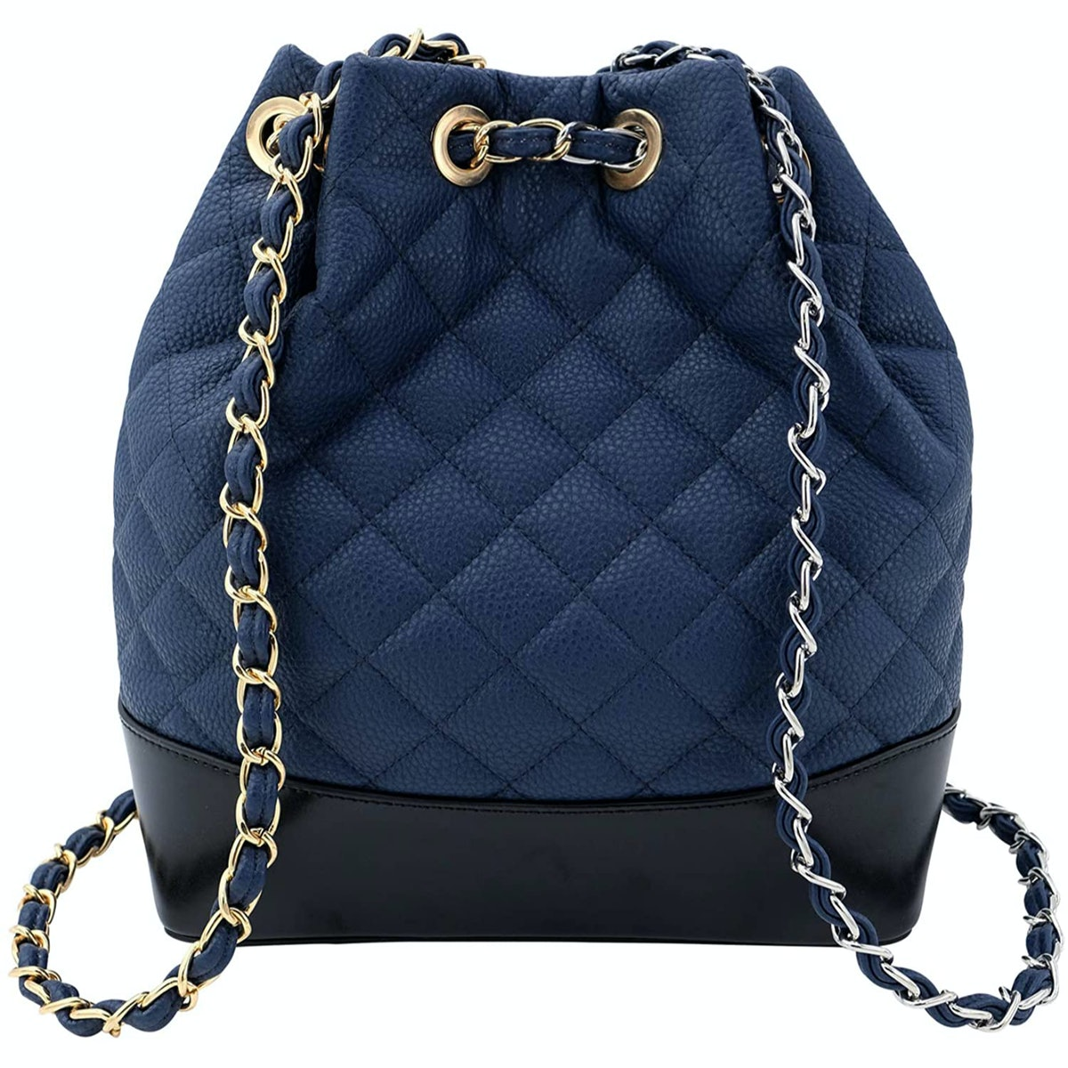 Saratoga Quilted Bucket Backpack