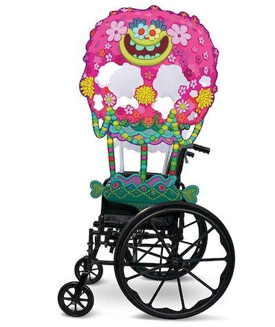 Troll Flower Balloon Adaptive Wheelchair Cover For Kids