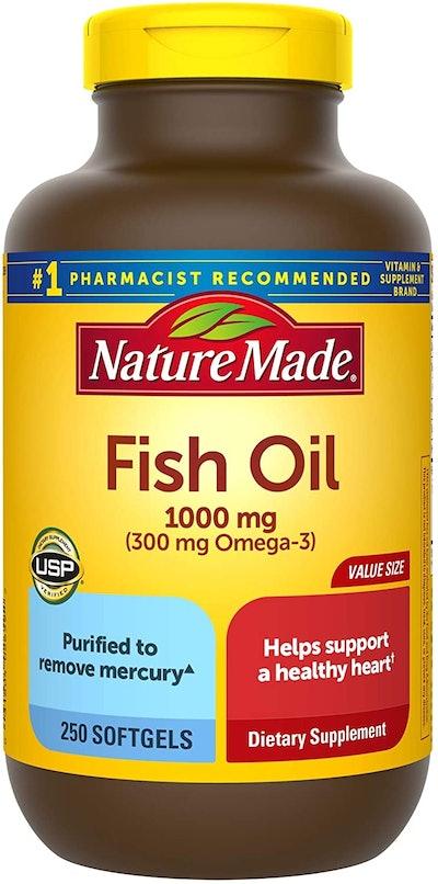 Nature Made Fish Oil 1000 mg (250 Softgels)