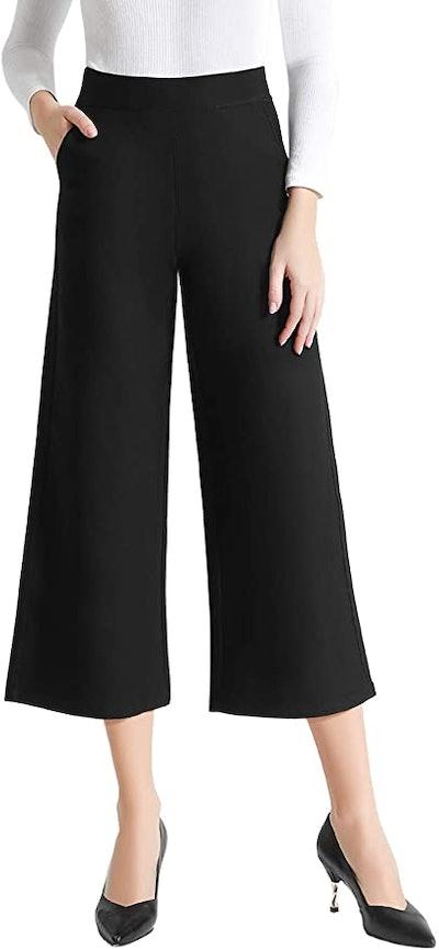 Tsful High Waist Wide Leg Pants