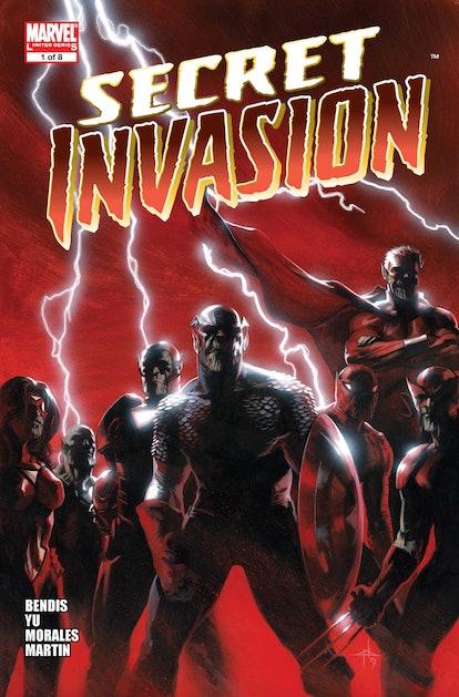 The 'Secret Invasion' Marvel Comic began in 2008. Photo via Marvel