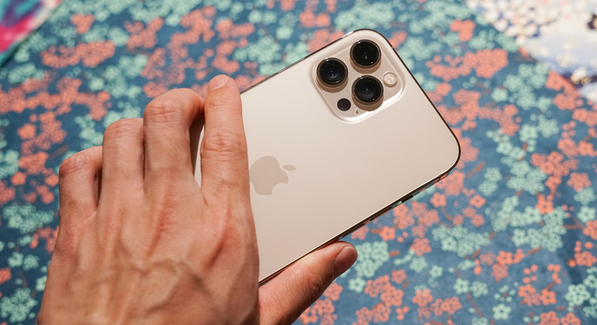 iPhone 12 Pro Max in hand review
