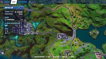 fortnite ferrari location 2 map
