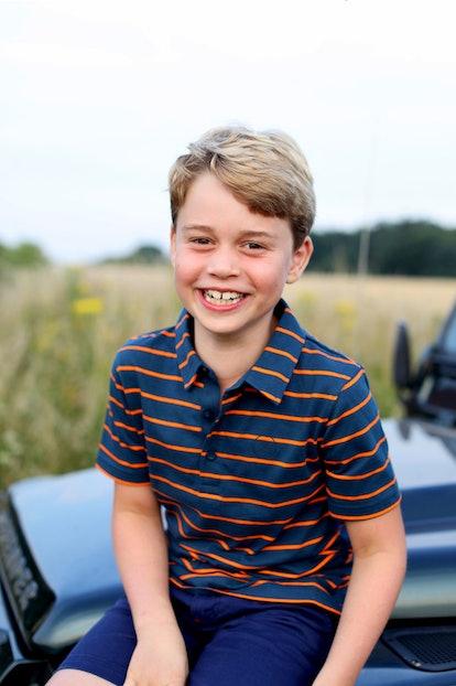 Prince George's 8th birthday photo