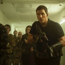 Chris Pratt, as the lead in Amazon's newest science-fiction action movie The Tomorrow War.