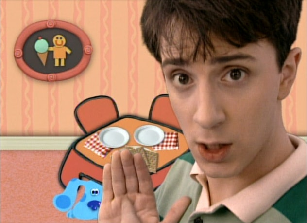 Blues Clues first aired on Nick Jr in the 1990s