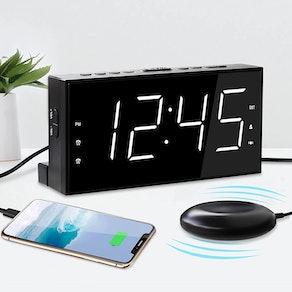 Mesqool Extra Loud Dual Alarm Clock