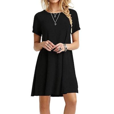 MOLERANI Simple T Shirt Dress