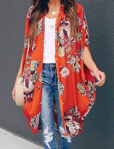 Ivay Floral Duster