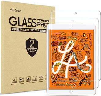ProCase iPad Mini Tempered Glass Screen Protector (2-Pack)