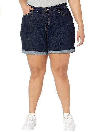 Levi's Women's Plus-Size New Shorts